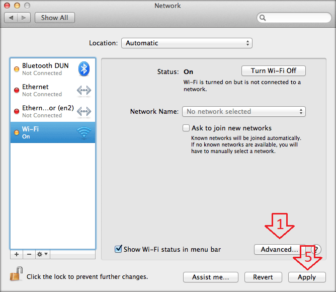 How to setup WiFi Direct Hotspot connection from Mac OS X?